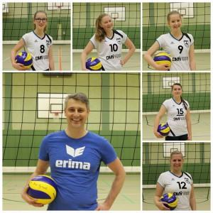 Mit Maira Lohmann, Kathi Sandermann, Svenja Thielecke, Mandy Bahmann und Anna Hamer.