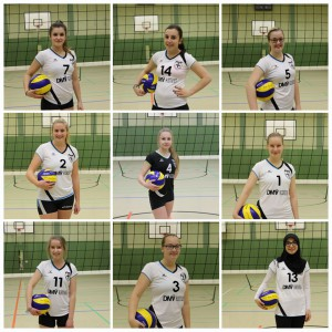 Mit Caro Mckb, Lea Schck, Nina Bgn, Melina von Wysiecki, Isabel Pyka, Tabea Taubert und Jasmin Pyka.